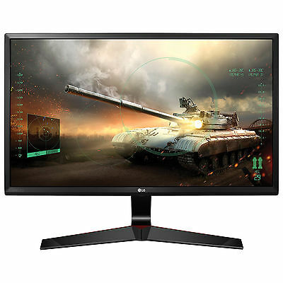 "LG 27MP59G-P 27"" LED LCD Gaming Monitor 5MS FHD 1080P HDMI DP VGA FreeSync IPS"