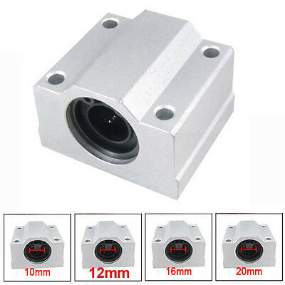 For CNC Linear Motion Ball Bearing SCS8/10/12/16/20UU Slide Bushing Aluminum