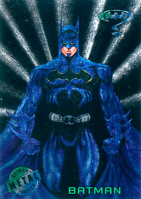 Batman Forever Metal Card Set (Fleer, 1995)