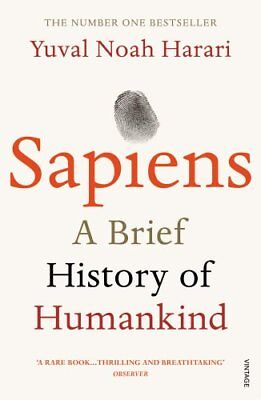 Sapiens: A Brief History of Humankind by HARARI, YUVAL NOAH
