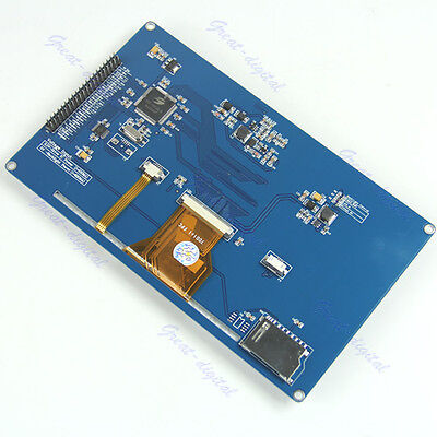 """7"""" inch TFT LCD Display module  800x480 PWM Arduino AVR STM32 ARM  SSD1963 Touch"""