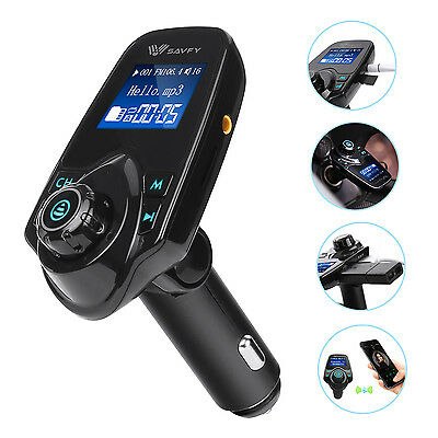 Bluetooth Per Auto MP3 Lettore Trasmettitore FM Radio Wireless Adattator Car Kit