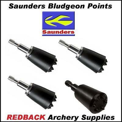 4 Bludgeon 125 grn Small Game Hunting Screw in Arrow Heads