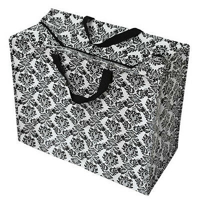 The Original Jumbo Zipped Storage Laundry or Moving Bag - Baroque Design