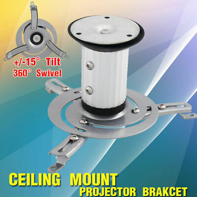 Projector Ceiling Mount Bracket Tilt Swivel Universal LCD/DLP Home Theatre AU