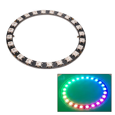 24 Bit WS2812 5050 RGB LED Ring Circle Lamp Board with Integrated Driver OS852