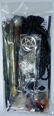 Gypsy Witches Ladder Black Pentagram Spell Kit