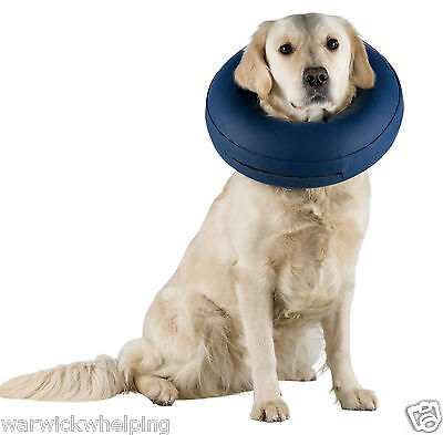 Trixie Collar inflatable Buster Cone Medium Large X Large dog recovery surgery