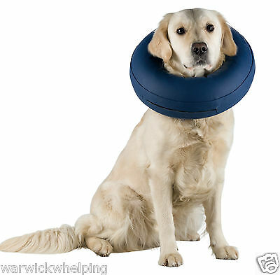 Trixie Collar inflatable Buster Cone S Medium Large X Large dog recovery surgery