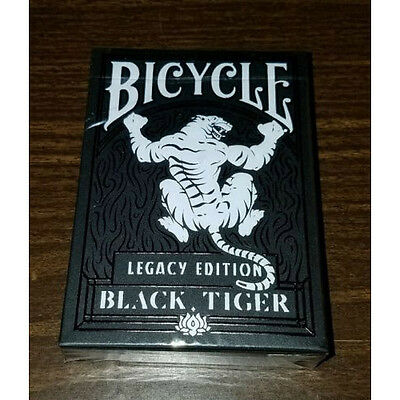 1 mazzo Carte Bicycle Black Tiger Legacy Edition by Ellusionist