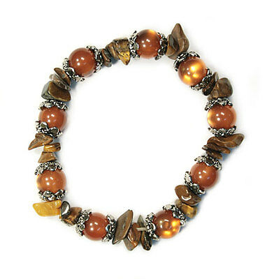 Bulk Lot X 12 Tiger Eye/ Catseye Bracelets