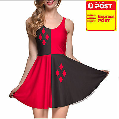 SUICIDE SQUAD Harley Quinn Dress Halloween Costume
