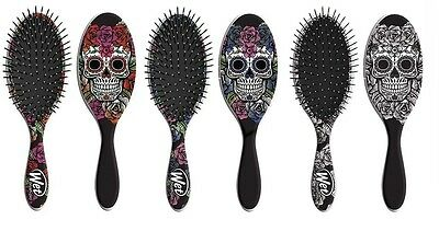 The Wet Brush Professional Detangle Hair Brush SUGAR SKULLS Edition