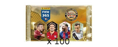 NEW 100 Boosters Panini UPDATE Adrenalyn XL FIFA 365 2017