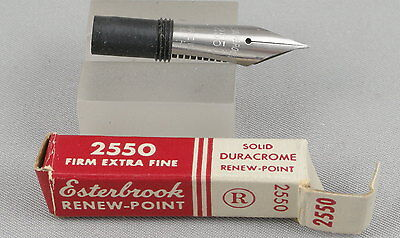 Esterbrook Renew-Point 2550 Firm Extra Fine Nib In Box - New-Old-Stock