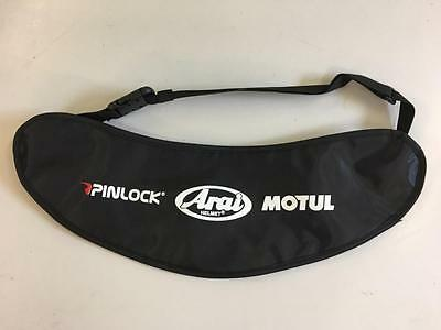 Arai Visor Carrier Holder Transporter Bag With Adjustable Belt