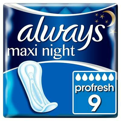 Always Maxi Night 10 Towels 1 2 3 6 Packs