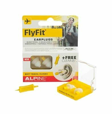 Alpine Flyfit Earplugs 1 2 3 6 Packs