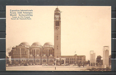 Anvers : exposition internationale 1930 - temple art flamand / cpa