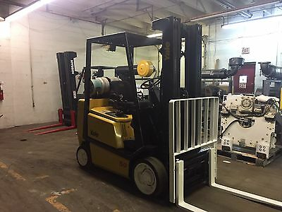 Yale 5000 Pound Forklift With Sideshift And Triple Mast Rental Specs