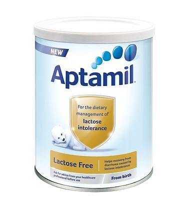 Aptamil Lactose Free - From Birth 400g 1 2 3 6 Packs