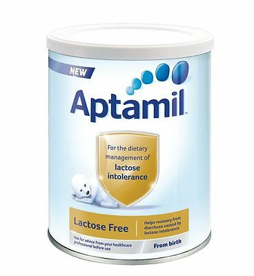 Aptamil Nutricia Lactose Free - Baby Food From Birth 400 g