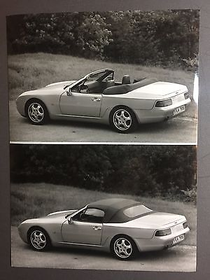 1993 Porsche 968 Cabriolet Factory Issued Press Photo, Foto RARE!! Awesome L@@K