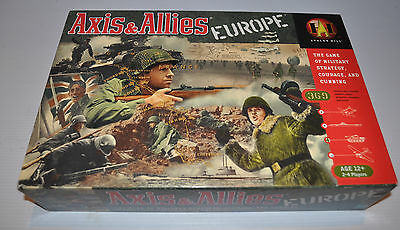 AXIS & ALLIES Europe BOARD GAME Avalon Hill