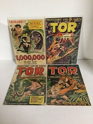 One Million Years Ago 1 Tor 3 4 5 Vg Very Good 4.0