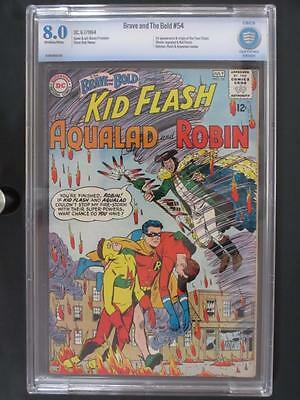 Brave and The Bold #54 - CBCS 8.0 VF - DC 1964 - 1st App/ORIGIN The Teen Titans!