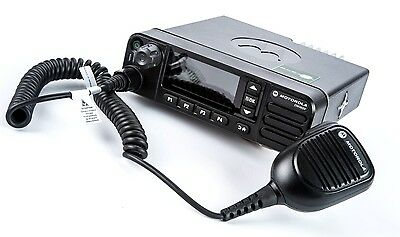MOTOROLA MOTOTRBO DM4600 UHF 25 WATT DMR DIGITAL MOBILE TWO WAY RADIO x 1 PROMO