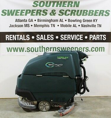 "Used Nobles Speed Scrub 24"" Walk Behind Floor Scrubber"