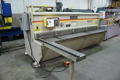 "USED ACCURSHEAR HYDRO-MECHANICAL SHEAR 1/4"" x 10' MODEL 625010 YEAR 1997 CLEAN!"