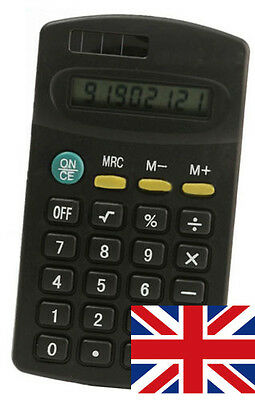 Small Pocket Calculator 8 Digit, Battery Powered for Shopping Finance Office