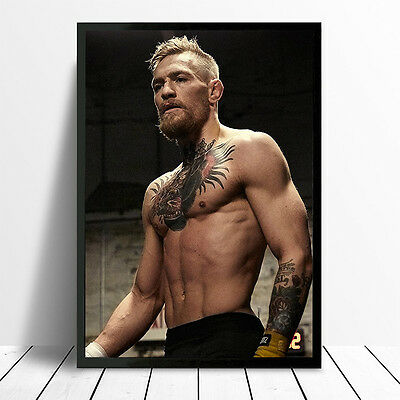 Conor Mcgregor Ufc Fighter Poster Print Picture Photo A4 A3 260Gsm Glossy