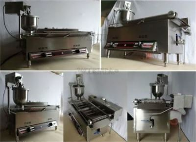 Commercial Automatic Gas/Electric Ce Approval Donut Fryer Donut Making Machine L