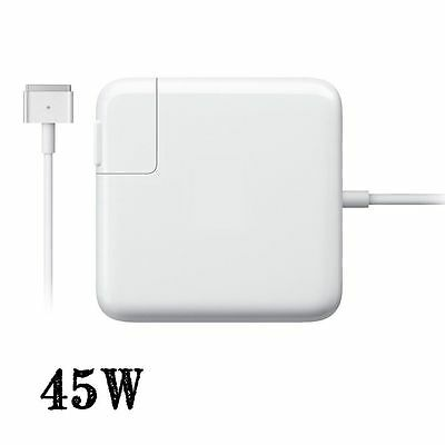45W AC Power Adapter charger Magsafe2 T for Apple MacBook Air A1465 A1466 MD232