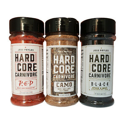 Hardcore Carnivore Rub Combo Great for Grilling and Smoking