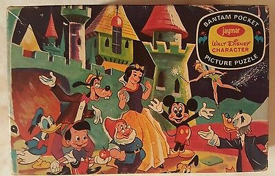 Vintage Disney Bantam Pocket Picture Puzzle: The Disney Gang 1961