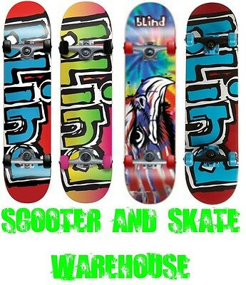 New Blind Complete Trick Skateboard - Free Delivery