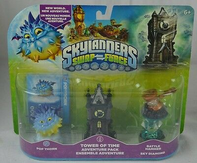 Skylanders: Swap Force: Tower of Time Adventure Pack: New with Defect