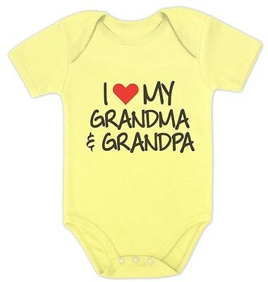 Baby Bodysuit Grandpa My Hero Cute Baby Clothes For