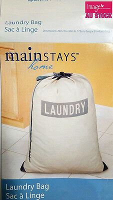 Laundry Bag Laundry Sack Storage Bag with Drawstring Outdoor Dirty Clothes