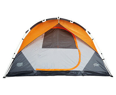 Coleman Instant Dome 5-Person Camping Tent - Orange/Grey