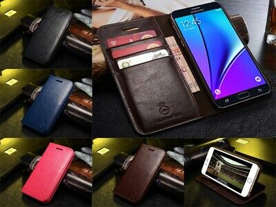 Genuine Musubo Leather Wallet Card Case Cover For Samsung Galaxy S9 S10 Note 10+
