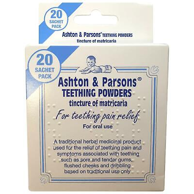 Ashton & Parsons Infants' Powders For Teething Pain Relief 1 2 3 6 Packs