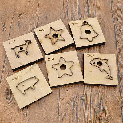 DIY Leather Craft Clicker Die Punch Cutting Animals Geometric Template Tool