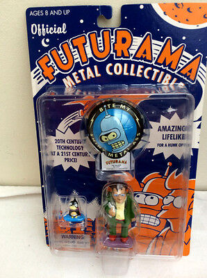 ROCKET USA FUTURAMA - Hermes with Nibbler  Figures     UNOPENED !