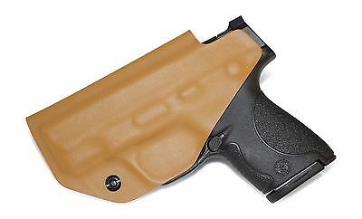 Desert Fox Tan IWB Kydex Holster CCW Concealed Carry Inside Waistband