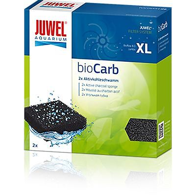 Juwel Jumbo Carbon Sponge Filter Media (Pack of 2) (Bioflow 8.0) *Genuine*